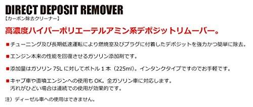 HKSDDRDirectDepositRemover(ダイレクトデポジットリムーバー)カーボン除去クリーナー(ガソリン燃料添加剤)225ml52006-AK003
