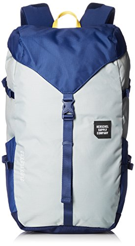 Herschel Supply Co. Barlow Large Quarry/Blue Print One Size