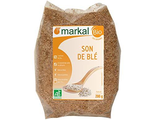 Son de Blé - Ab - Fibres pour le bol alimentaire - 200 G - Markal