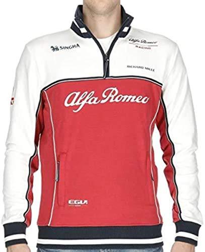 Sauber Motorsport AG ALFA Romeo Formel 1 Offizielles Team F1 Racing Sweater - Rot - XXL