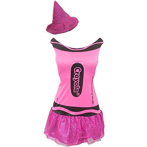 I LOVE FANCY DRESS LTD Disfraz DE Lapiz DE Color Rosa para Adultos TAMAÑO Unico Carnaval O Despedidas DE Soltero O Soltera