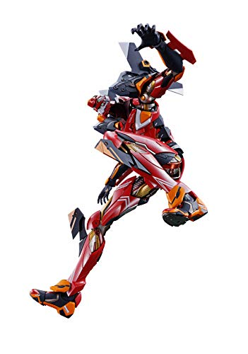 METAL BUILD Evangelion No. 2, Approx. 8.7 inches (220 mm), ABS & PVC & Die-cast, Painted Action Figure