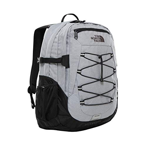 The North Face Borealis Classic, Zaino Unisex Adulto, Mid Grey Heathr/TNF Black, Taglia Unica