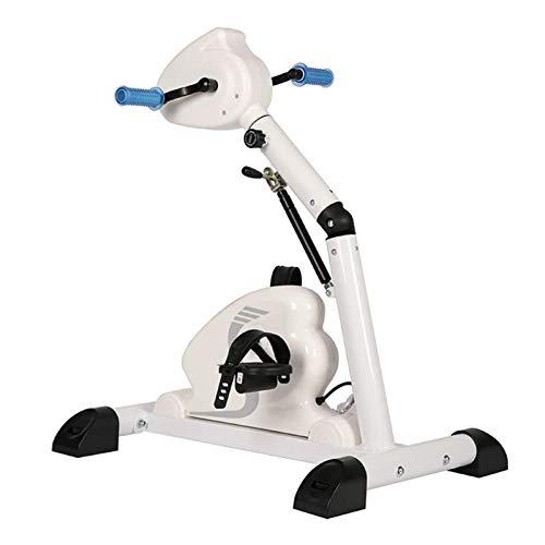 ZXFF Ejercicio De Pedal Eléctrico, Mini Fitness Plegable Bicicleta Estacionaria, Stroke Hemiplegia Brazo Y Rehabilitación De Rodilla Equipos De Aptitud (Color : A)