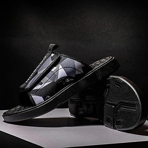 Yumanluo Chanclas Hombre Sandalias de Dedo Planas Flip Flops Playa Piscina Verano Zapatos de Playa Antideslizante para Adulto Men,Zapatillas de Playa de Ocio al Aire Libre-B_44