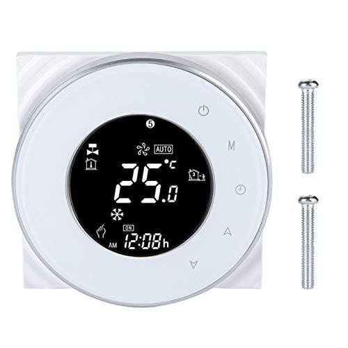 Termostato termostato con Controlador de Temperatura WiFi Termostato de Pantalla LCD Termostato de Aviso de Voz