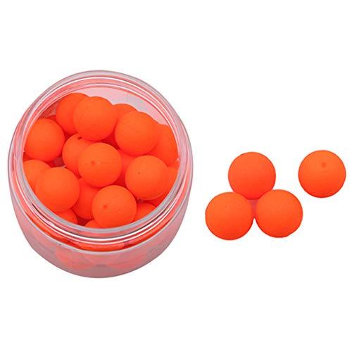 L_shop Angelköder aus Schaumstoff, schwimmender Ball für Meeresangeln, schwimmender Ball, Perlen, Köderball, EPS, Orange