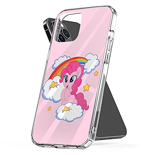 Phone Case Compatible with iPhone My Accessories Cute Scratch Pinkie Pie Waterproof Boys Geeky Pony M L P Little Girls Trendy Design Printed 6 7 8 Plus Se 2020 X Xr 11 Pro Max 12 Mini