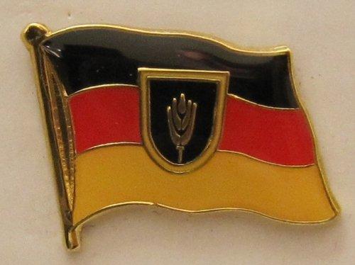 Buddel-Bini Versand Pin Anstecker Flagge Fahne Wolgadeutsche Wolga Deutsche Flaggenpin Badge Button Flaggen Clip Anstecknadel