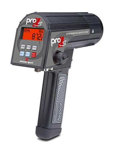 Stalker Pro IIs Sports Radar - The only Hand-held Baseball Radar Gun That captures Ball Spin Rate in Real time - no delay and no estimations.