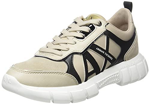 Armani Exchange Speed Runner, Zapatillas Mujer, Q032, 36.5 EU
