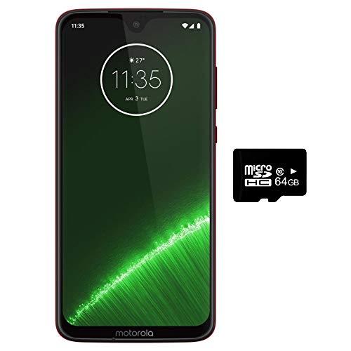 Motorola Moto G7+ Plus (64GB + 64GB SD Bundle)...