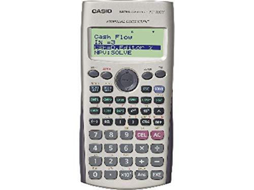 Casio FC100V Financial Calculator, Silver