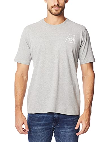 Camiseta manga curta Logo Marks Tee, THE NORTH FACE, masculino, Cinza, G