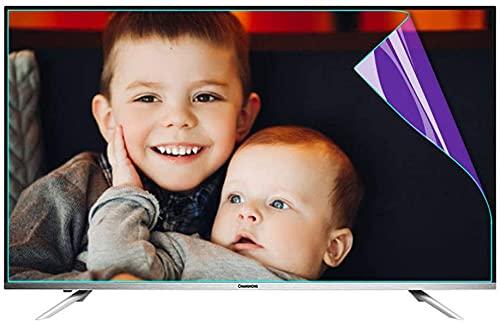 Anti Luz Azul Protector de pantalla de TV Protector De Pantalla De TV De Luz Azul Anti De 43 Pulgadas Alivia La Fatiga Ocular | Película Antideslumbrante // Antiarañazos Para SHARP, SONY, SAMSUNG, His