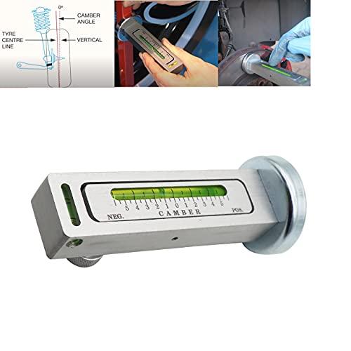 Dokili Universal Auto Magnetisch Ausrichtungssturzlehre Einstellbares Magnetspurwerkzeug Auto-Magnetspurwerkzeug Große Kontaktfläche des Magneten