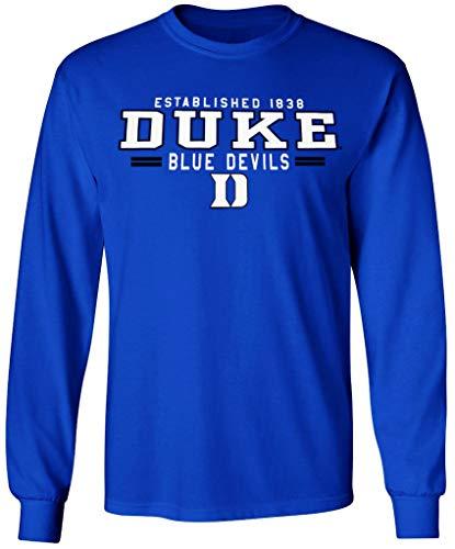 Duke Blue Devils T-Shirt Basketball Jersey Decal University Mens Womens Apparel Large