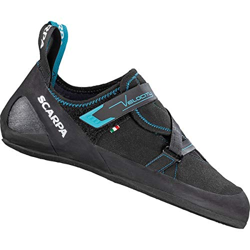 Scarpa Velocity Kletterschuhe Herren Black/Ottanio Schuhgröße EU 42 2020 Boulderschuhe