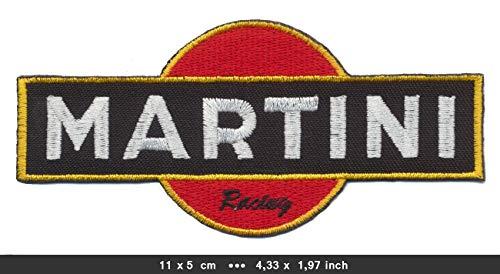 dise/ño Vintage de Carreras RG20 Martini Patch MRT05 Parche termoadhesivo