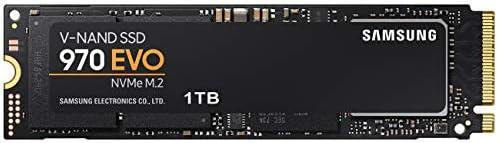 Samsung MZ-V7E1T0BW 970 EVO 1 TB NVMe M.2 Interne SSD Schwarz