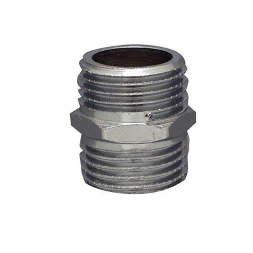 Cornat chrom Doppelnippel 3/8 Zoll , TEC386600
