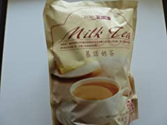 Gino - Milk Tea Powder 14 Oz/400g (Pack of 1). Bag comes with 20 sachets.