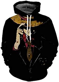 Anime One Piece Men's Long Sleeve Hoodie Sweatshirt Fashion Loose Casual Tops-XL