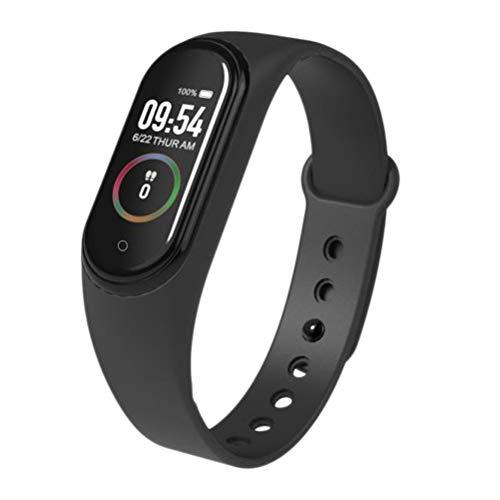 FuYouTa Smart Armband Fitness Uhr Schlank Smart Armband für Frauen Männer Farbbildschirm Smart Armband Herzfrequenz Blutdruckmessung Wasserdicht Schrittzähler Bluetooth Sport Armband