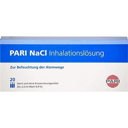 PARI NaCl Inhalationslösung zur Befeuchtung der Atemwege, 50 ml Lösung