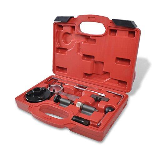 Xinglieu Kit réglage pour vAG 1.6 & 2.0 TDI Facile à Utiliser, Transporter et fixez Accessoires pour véhicules boîte à Outils du véhicule