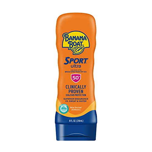 Banana Boat Ultra Sport Reef Friendly Sunscreen Lotion, SPF 50, 8 Fl Oz