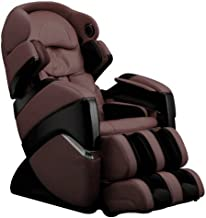 Osaki OS3DPROCYBERB Model OS-3D Pro Cyber Zero Gravity Massage Chair, Brown, Evolved 3D massage Technology, Computer Body Scan, 2 Stage Zero Gravity, Next Generation Air Massage Technology, 36 Air Bag