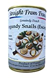 Straight from France French Helix Pomatia Wild Burgundy Canned Escargots Snails (4 Dozens)