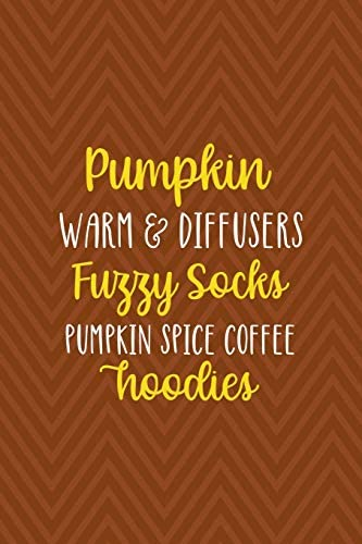 Pumpkin Warm Diffusers Fuzzy Socks Pumpkin Spice Coffee Hoodies Notebook Journal Composition product image