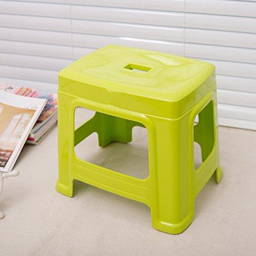 Kantoor Stoel Plastic Dikke Kruk Volwassen en Kinderen Krukken Huishoudelijke Badkamer Koffie Tafel Kruk Mode Bank Creatieve Eenvoud Stoel C