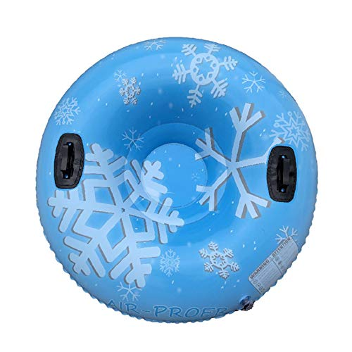 jaspenybow Ski Circle,Kids Sleds For Snow,Inflatable Snow Tube Oversized Nflatable Snow Ring For Children and Adults Environmentally Friendly Thickened,Cold-Resistant Material