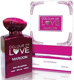 Tam Perfumes Color of Love Maroon For Unisex 100ml - Eau de Parfum
