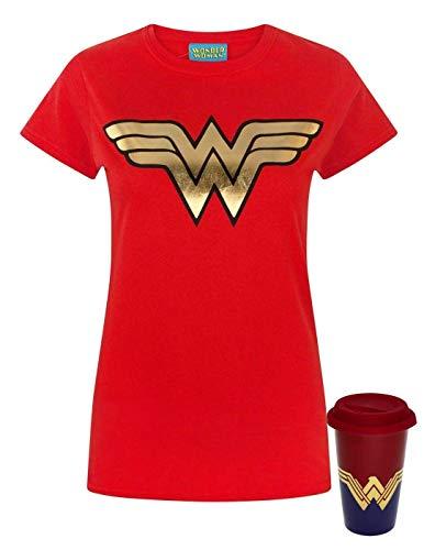 T-shirt Wonder Woman superhero maglia donna ufficiale