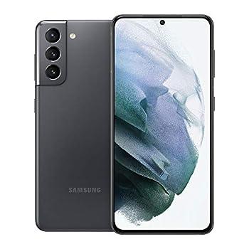 Samsung Electronics Samsung Galaxy S21 5G | Factory Unlocked Android Cell Phone | US Version 5G Smartphone | Pro-Grade Camera 8K Video 64MP High Res | 128GB Phantom Gray  SM-G991UZAAXAA