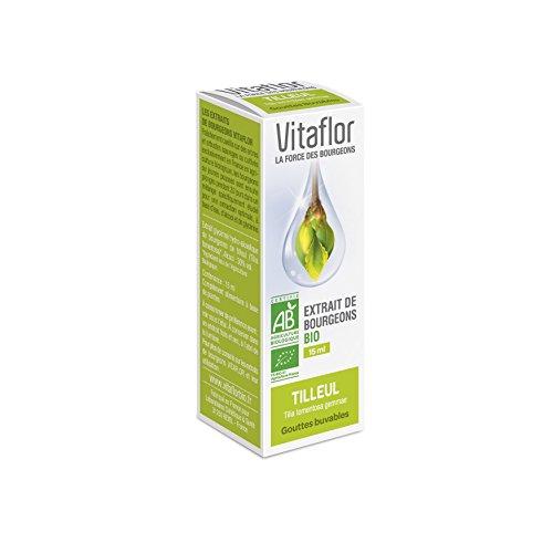 Vitaflor Extrait de Bourgeons Bio Tilleul 15 ml