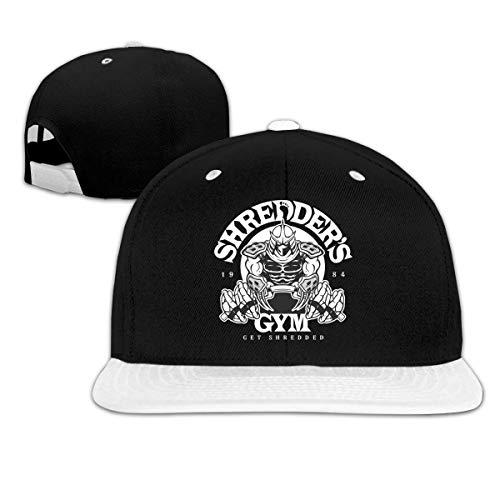 Lsjuee Shredder 's Gym Popular Gorra de bisbol de Hip Hop Unisex