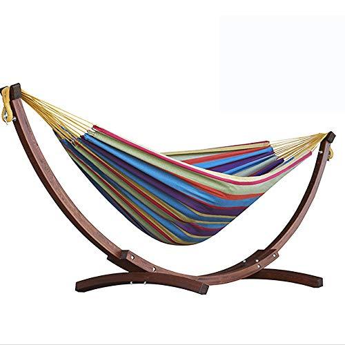 YY-HW Cotton Hängematte mit Gestell, TropicalSuitable for Familien, Dorm, Gartenschaukel (Color : Style e)