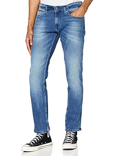 Tommy Jeans Herren Scanton Jeans, Berry Mid Blue Comfort, 33W / 32L