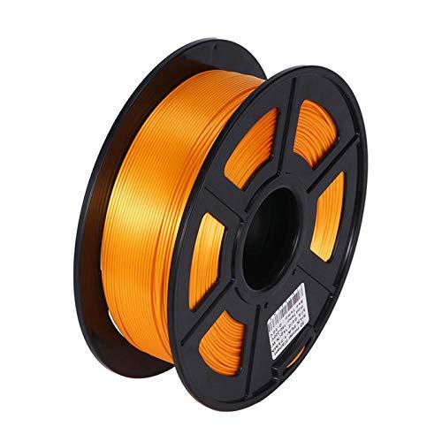Night K Silk PlA 3D Printing Consumables Flexible PLA Printing Consumables With High Strength and Better Transparent, Gold