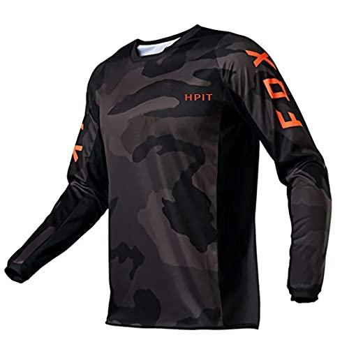 MLB Jersey Hombre, MTB Jersey Youth, MTB Jersey Specialized, Cycling Jersey Pro Team Ropa de Ciclismo Verano MTB Camisetas de Ciclismo Hombre Bike Jersey Triatlón Bicicleta/Motocross/MTB Jersey, S