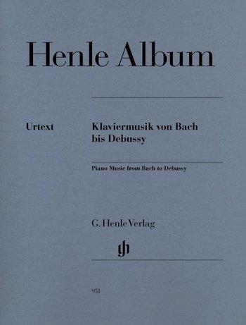 Henle Album für Klavier mit Bleistift - 39 Klavierstücke von Bach bis Debussy in Urtextausgabe mit Texteinführung zu Komponist und Werk (dt./eng./frz./jap.) (Noten/sheet music)