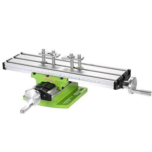 Mini Compound Bench Drilling Slide Table Worktable Fresatura Lavorazione Cross Table Milling Machine per banco Drill Stand