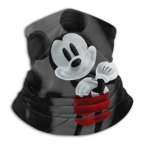 Xiaodong Mickey Mouse Sport Angelmaske Kopfbedeckung – funktioniert als Angeln Sonnenmaske, Halstuch, Stirnband, Bandana, Sturmhaube – Multifunktionale atmungsaktive nahtlose Mikrofaser