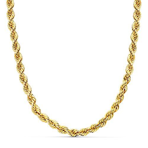 Cordón Salomónico Oro amarillo 18k 50cm 5mm