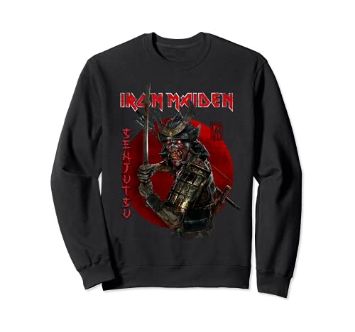 Iron Maiden - Senjutsu Eddie Red Circle Felpa